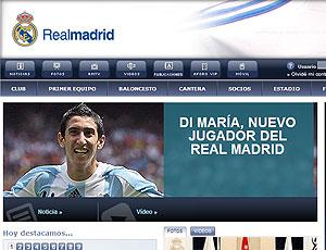 Real Madrid confirma a contratação de Di Maria