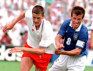 Dunga 1994 Brasil x Holanda