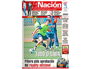 reprodução jornal la nacion