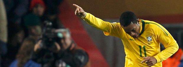 Robinho Brasil x Chile