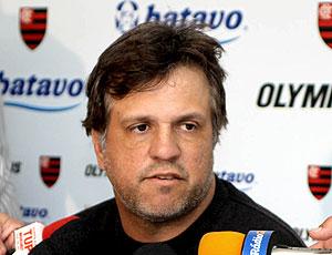 Rogerio Lourenço, coletiva Flamengo