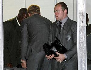 Rooney no aerporto