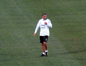 Samuel Argentina no treino