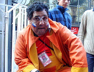 torcedor santiago, brasil x chile