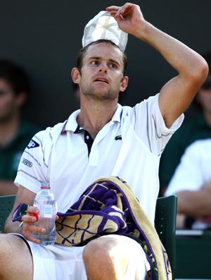 Andy Roddick Wimbledon tênis oitavas
