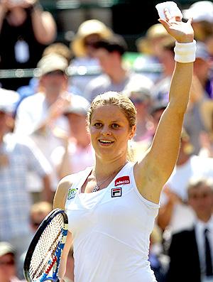 Kim Ciljsters Wimbledon tênis oitavas