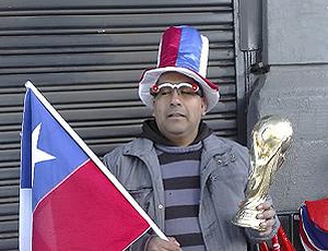 Torcedor Chile fantasiado
