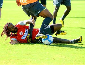 Treino Flamengo Vagner Love Gávea
