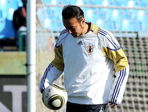 Tulio Tanaka jogador do Japão (Foto: AFP)