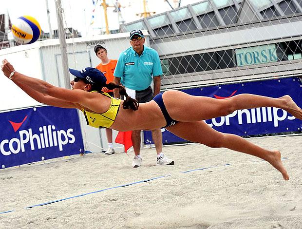 Taiana Mundial de vôlei de praia Noruega