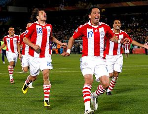Barrios gol Paraguai