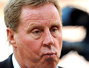 Harry Redknapp técnico do Tottenham Hotspur (Foto: Getty Images )