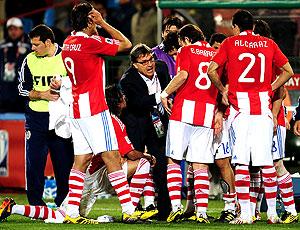 Martino jogadores Paraguai