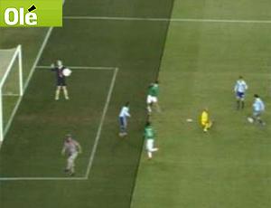 reprodução olé  gol argentina x méxico