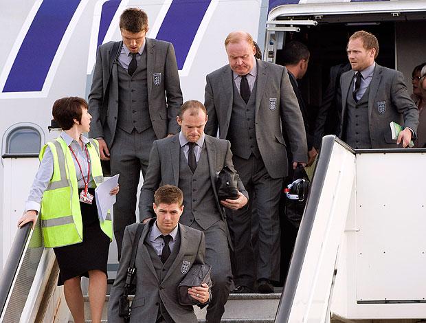 Rooney desembarque Inglaterra