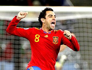Xavi Hernandez Espanha (Foto: Getty Images)