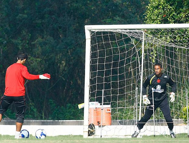 Bruno treino Flamengo