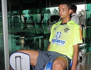 David treino Flamengo