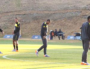 Julio Batista treino Seleção, Brasil