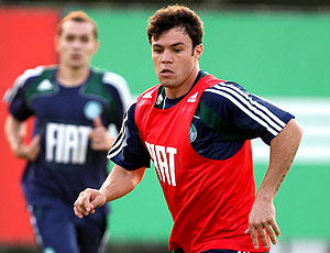 Kléber treino Palmeiras