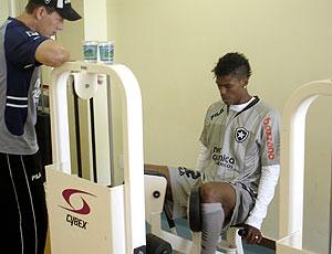 Maicosuel treino Botafogo