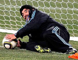 Maradona Argentina técnico goleiro