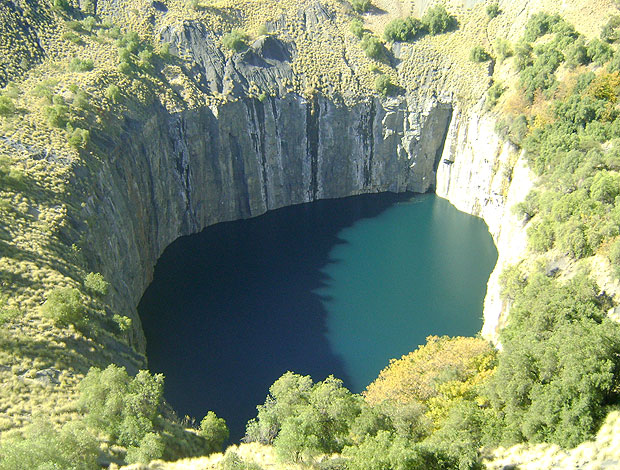 mina de diamante Big Hole África