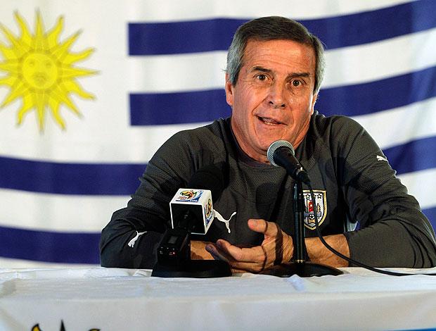 Oscar Tabarez  coletiva Uruguai