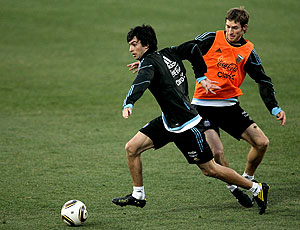 Pastore Bolatti treino Argentina