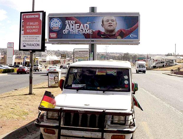 Rooney campanha outdoor África