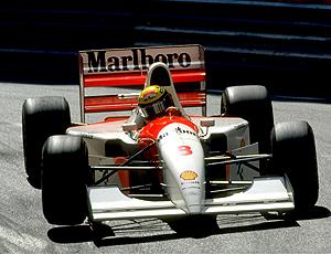 Ayrton Senna McLaren 1993 Monte Carlo
