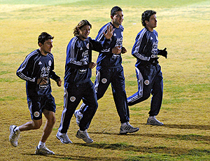 treino paraguai
