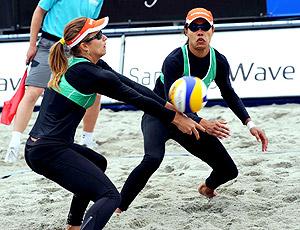 Juliana e Larissa Stavanger Circuito Mundial vôlei de praia