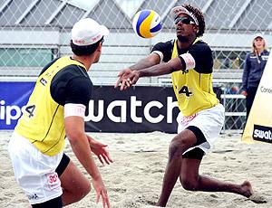 Thiago e Pedro Circuito Mundial vôlei de praia