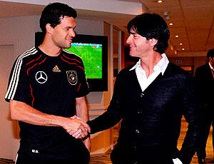 Low Ballack encontro Alemanha