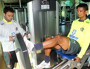 David treino Flamengo Itu