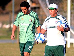 Fred Muricy Ramalho treino Fluminense Mangaratiba