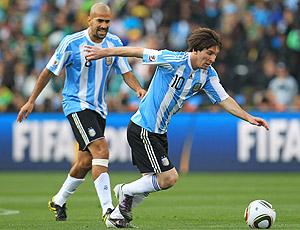 Messi Verón Argentina X Nigéria