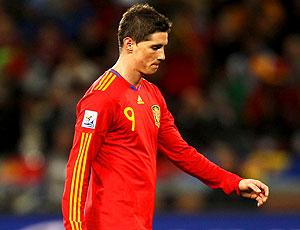 Fernando Torres jogador da Espanha