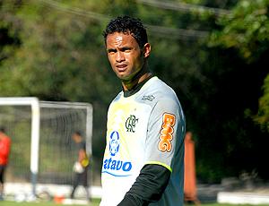 Bruno, treino Flamengo (Foto: Alexandre Durão / Globoesporte.com)