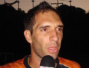 Fernando Prass treino Vasco