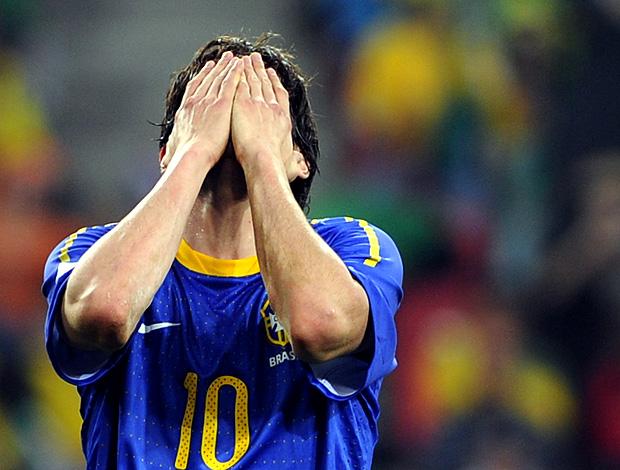 Kaká derrota Brasil jogo Holanda