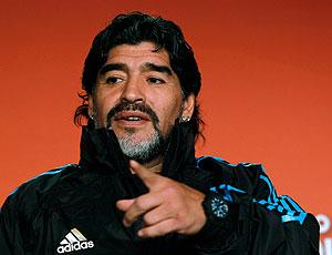 Maradona coletiva seleção Argentina
