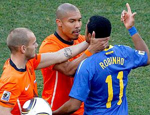 Robinho jogo Brasil x Holanda