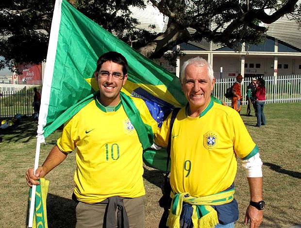 torcida brasil pai e filho