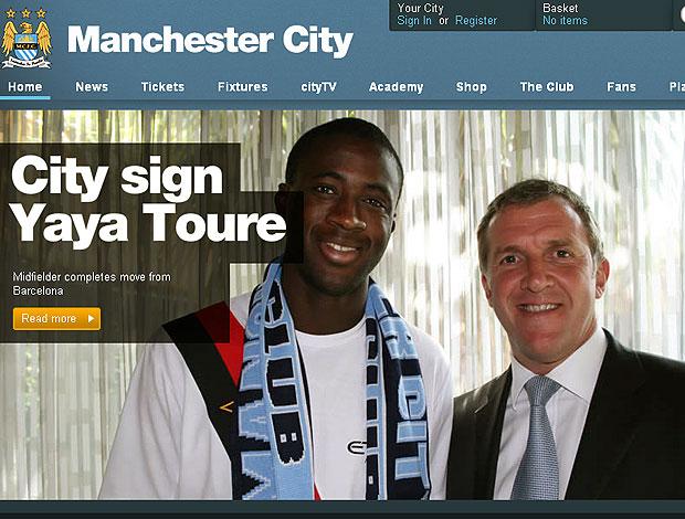 Yaya Touré contrato Manchester City