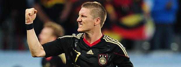 Bastian Schweinsteiger comemoração Alemanha