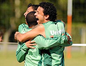 Fred, treino Fluminense