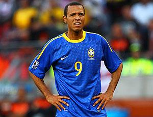 Luis Fabiano jogo Brasil contra Holanda