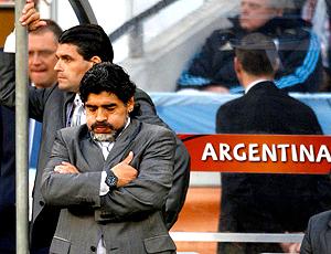 Maradona argentina chateado